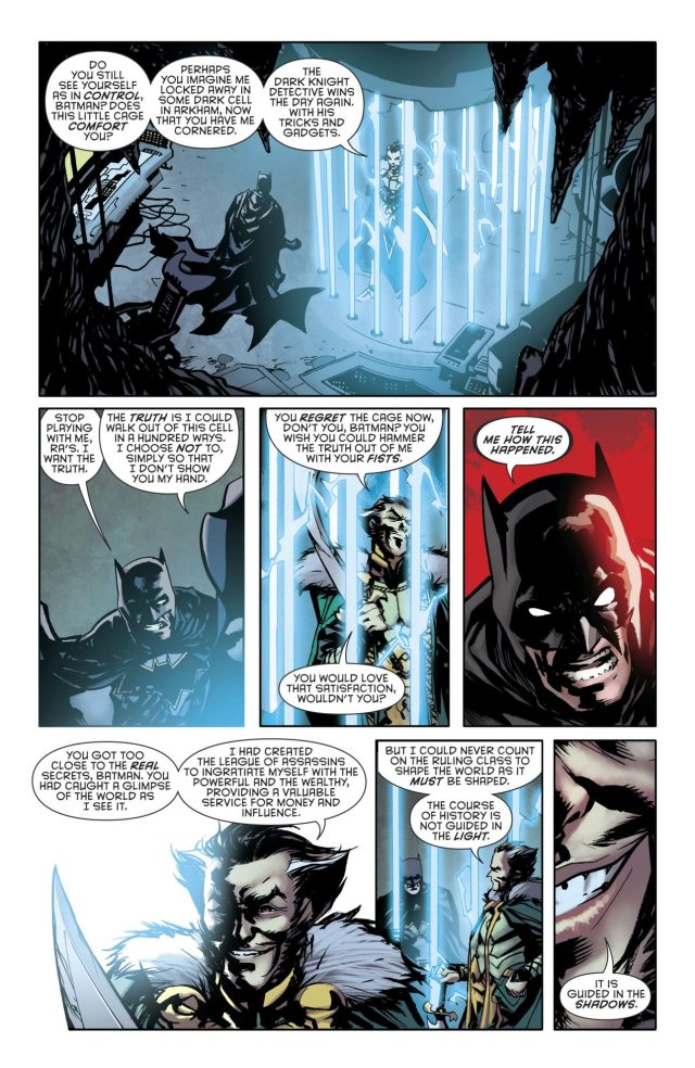 Ra's al Ghul Describes The League Of Shadows