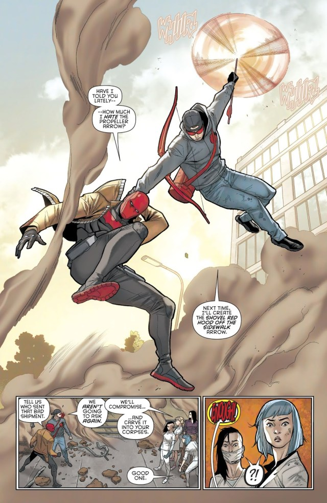 Red Hood And Arsenal VS Sisters Of Suzie Su