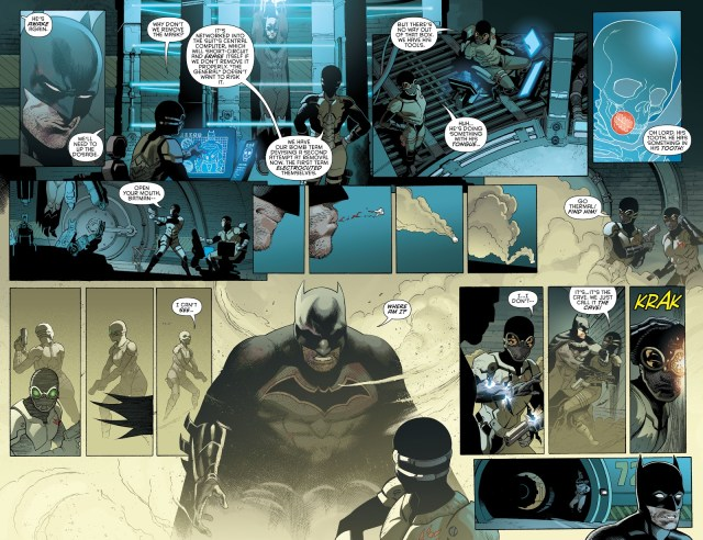The Colony's Headquarters (Detective Comics Vol. 1 #937)
