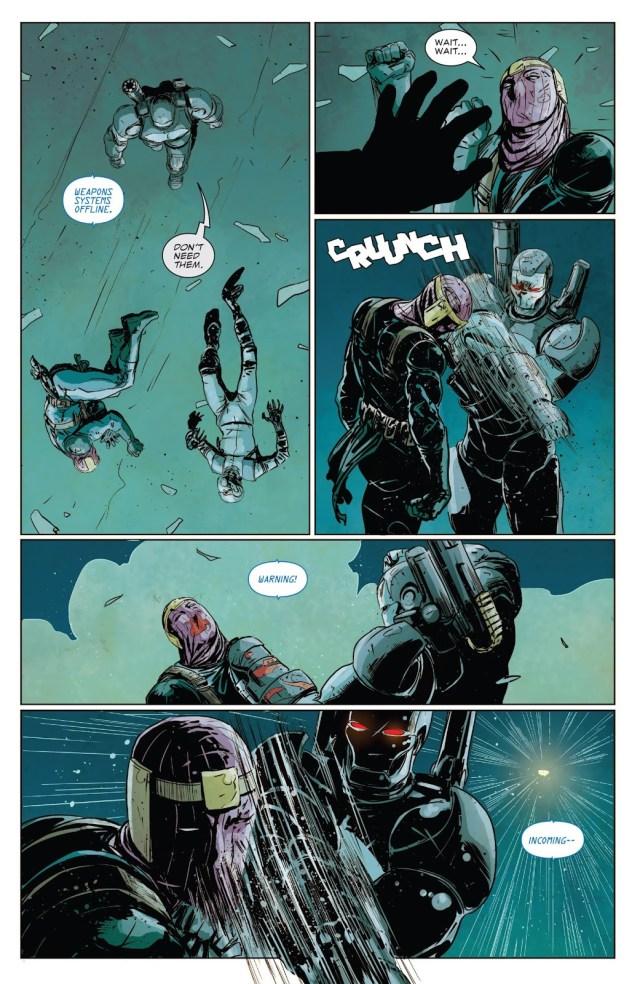 War Machine Punisher VS Baron Zemo And Ghost