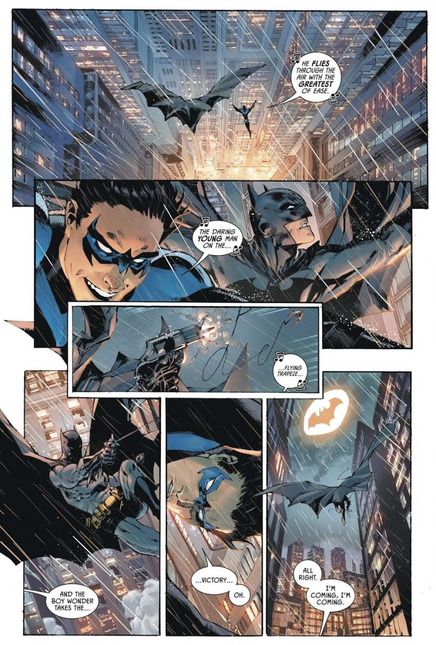 Batman And Nightwing Freefall Contest