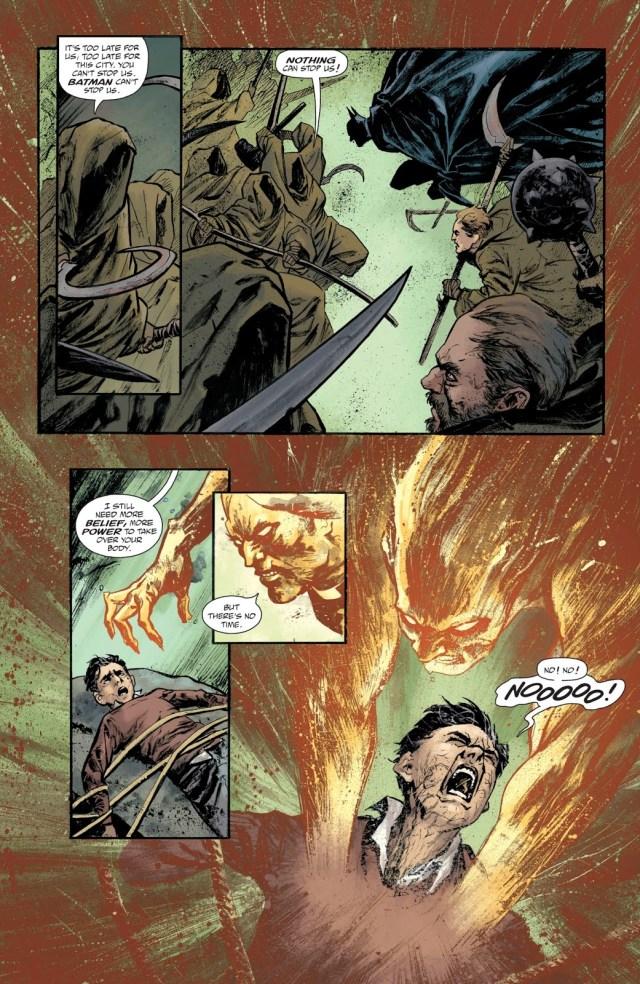 Batman Defeats Deacon Blackfire (Rebirth)