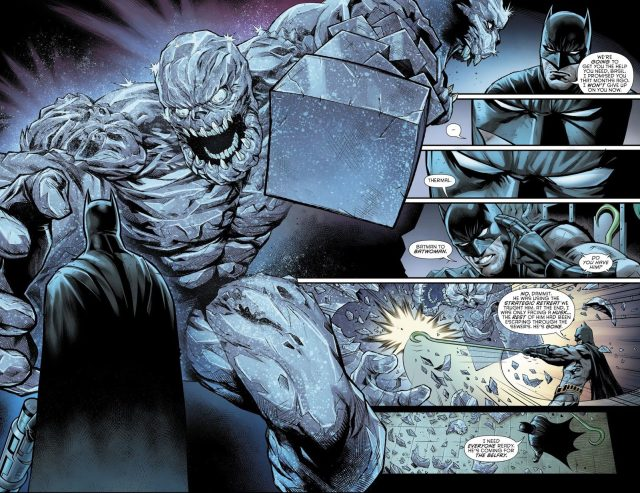 Batman VS Clayface (Detective Comics #972)