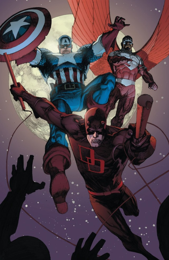 Captain America Recruits Luke Cage (Civil War)