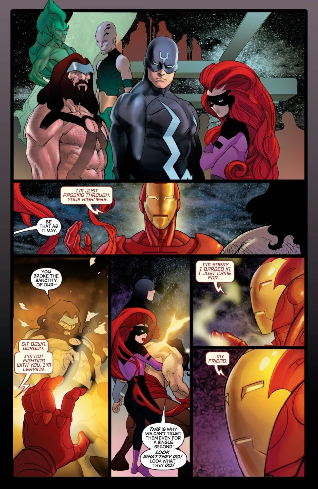 Iron Man Recruits The Sentry (Civil War)