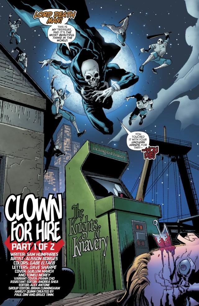 Lord Death Man (Harley Quinn Vol. 3 #48)