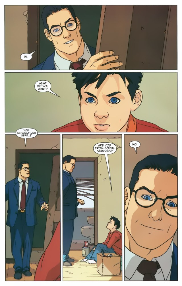 Superman Shares His Secret Identity With Billy Batson (First Thunder)