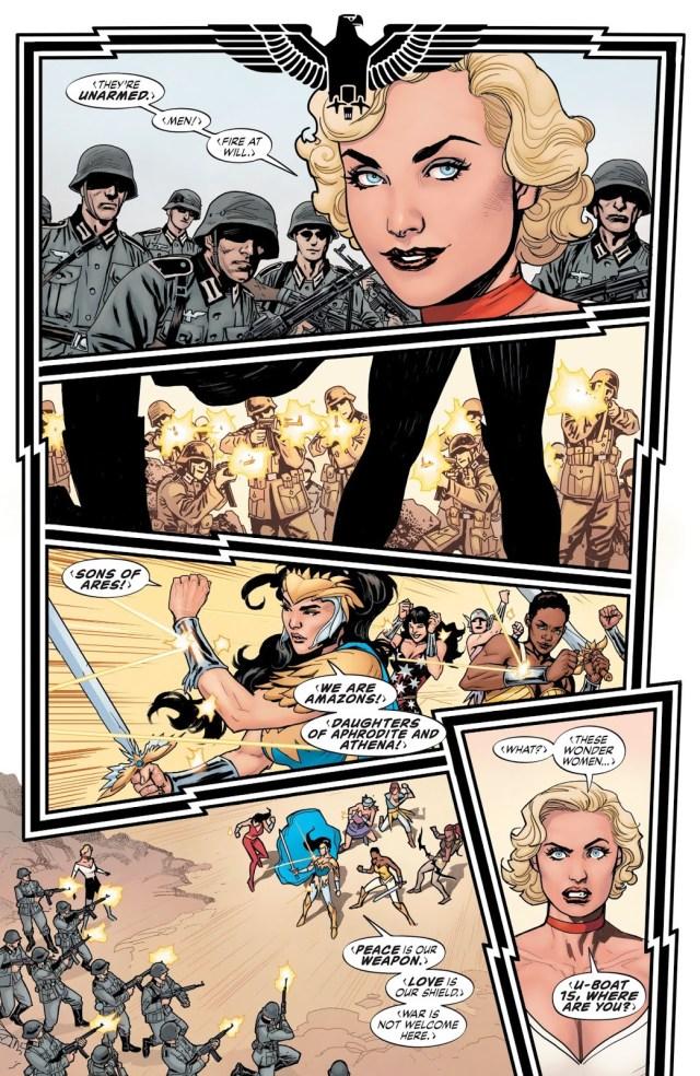 Amazons VS Nazis (Earth One)