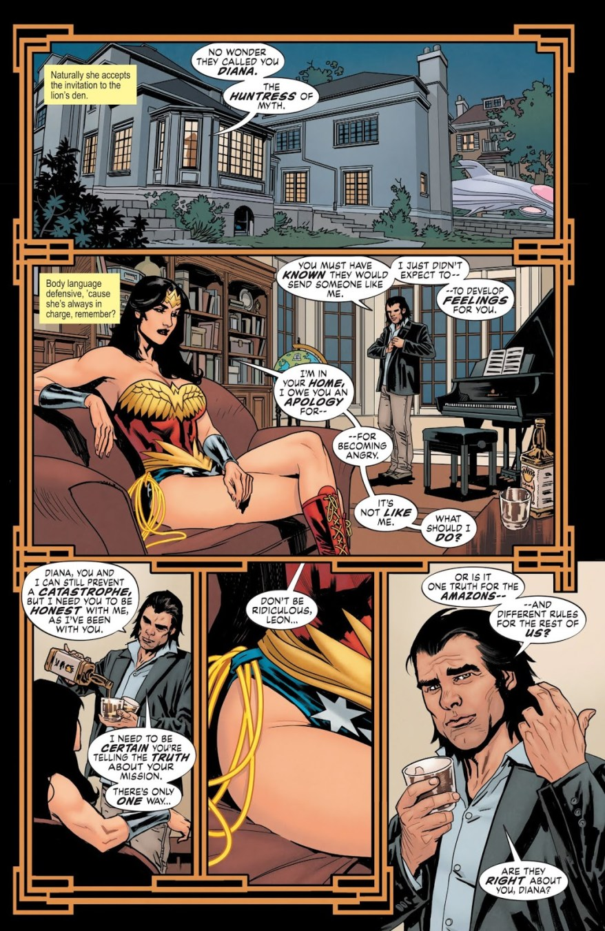 From –Wonder Woman – Earth 1 Vol. 2