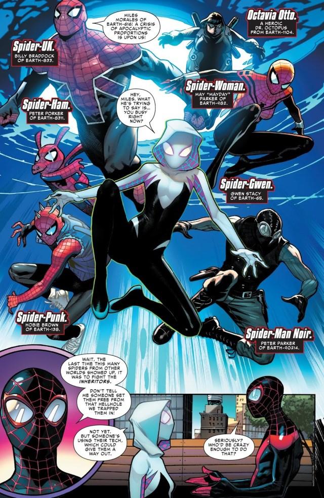 Spider-Army (Spider-Geddon #1)