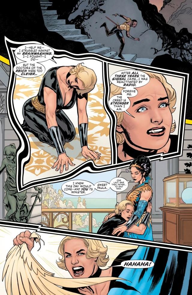 Uberfraulein Kills Queen Hyppolita (Earth One)