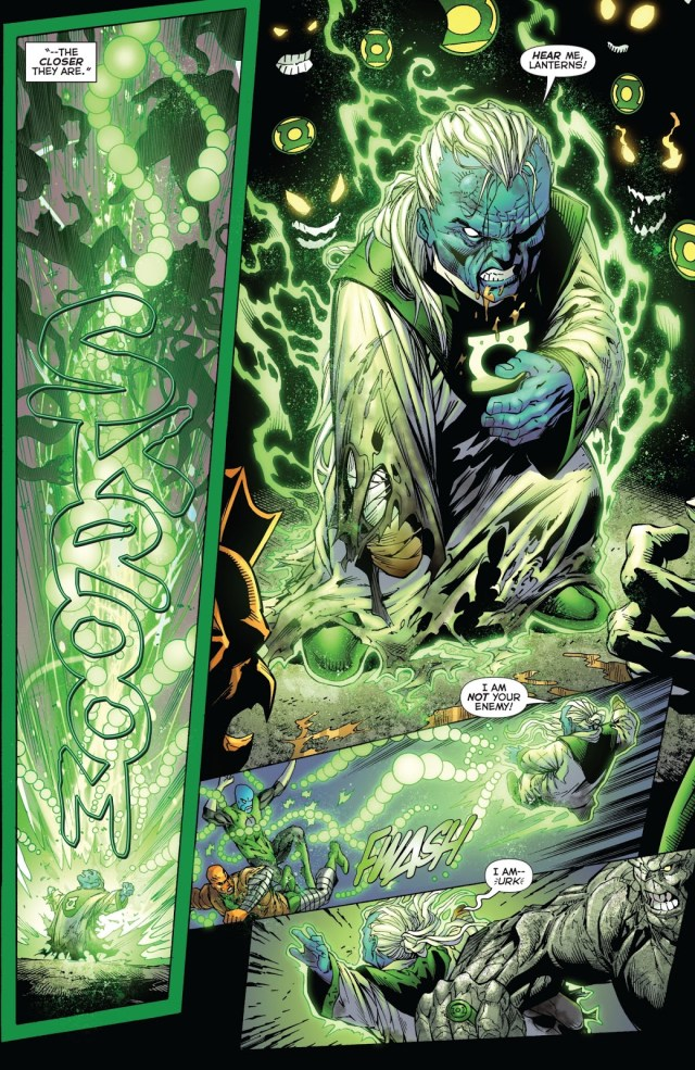 Green Lantern Ganthet VS The Green Lantern Corps