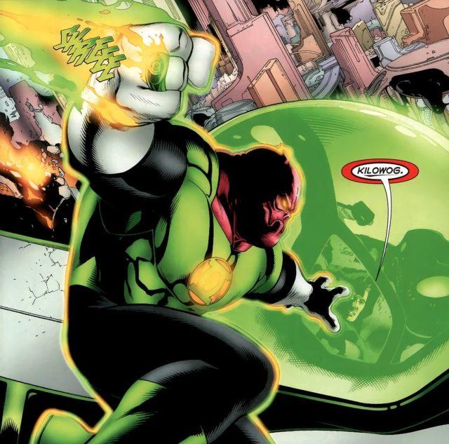 Green Lantern Kilowog (Green Lantern Vol. 4 #65)