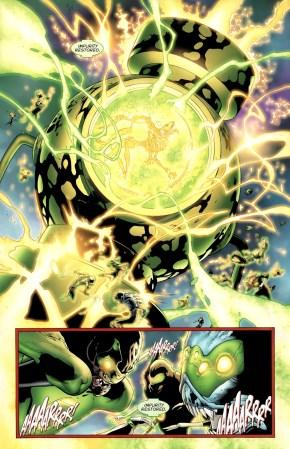 Krona Mind Controls The Green Lantern Corps