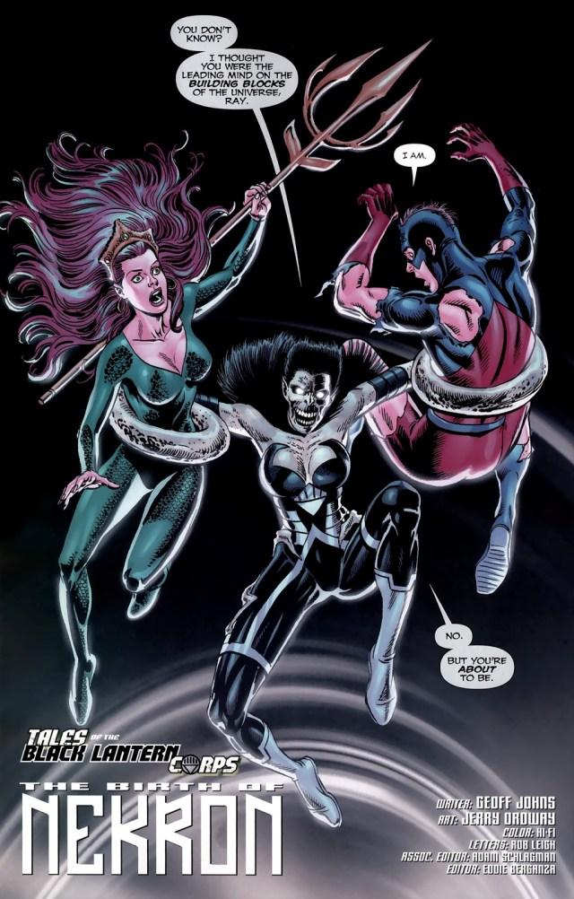 Mera And The Atom (Green Lantern Vol. 4 #49)