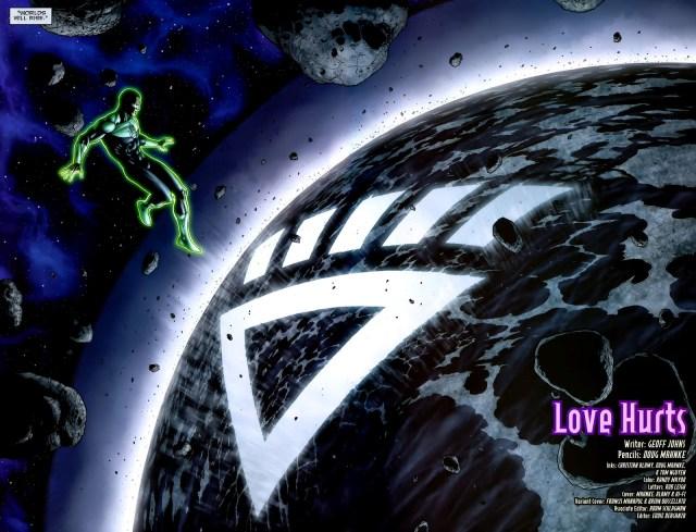 The Planet Xanshi Joins The Black Lantern Corps