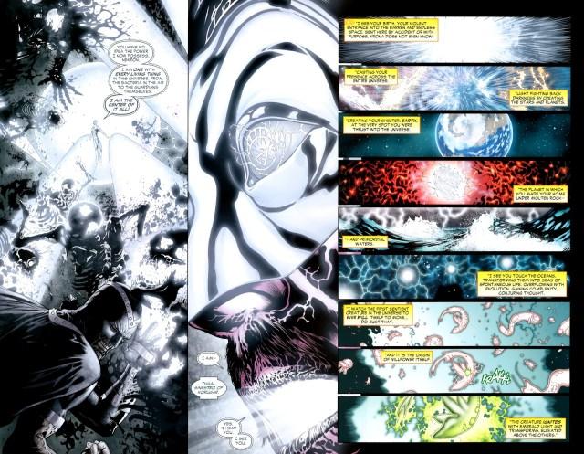 White Lantern Sinestro (Green Lantern Vol. 4 #52)