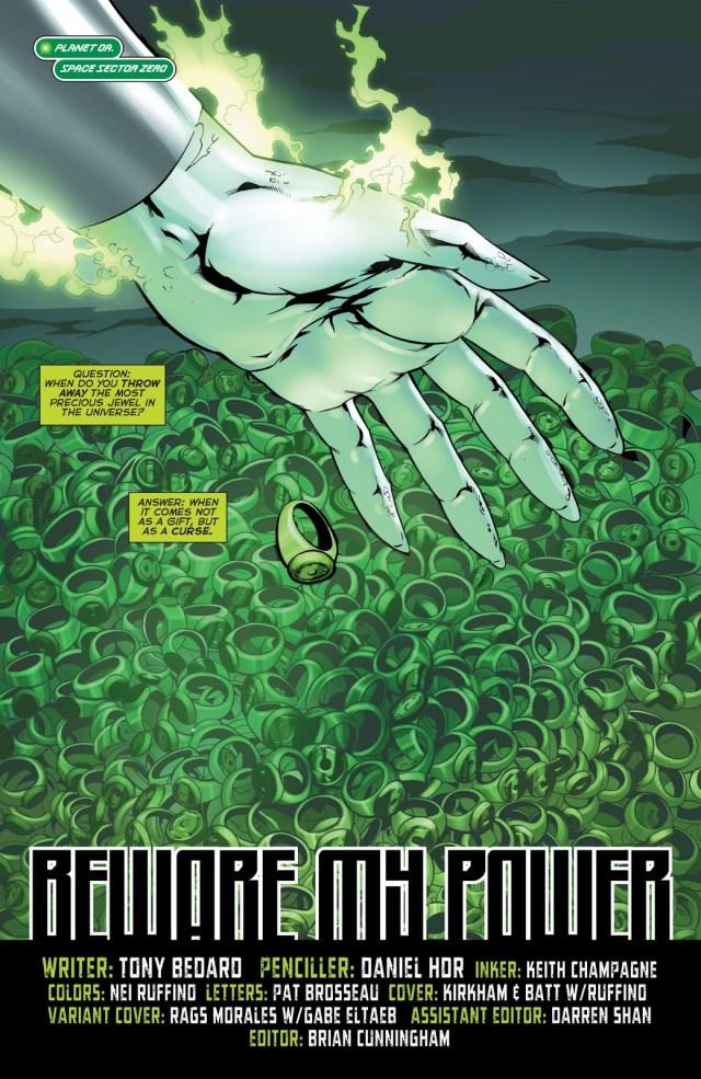 Green Lantern Corps Vol. 2 #60
