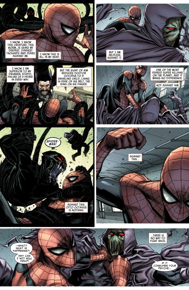 Superior Spider-Man Defeats A Fear-Worm