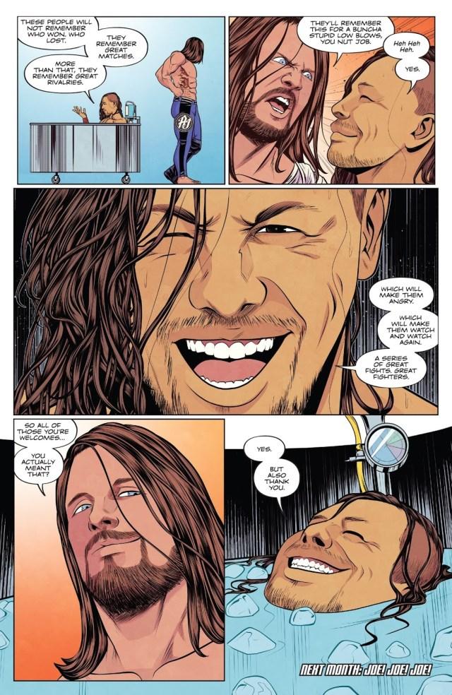 Why Shinsuke Nakamura Kept Low Blowing AJ Styles