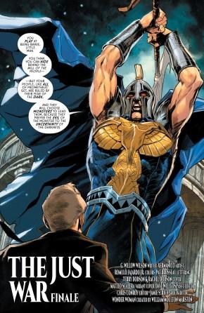 Ares (Wonder Woman Vol. 5 #62)