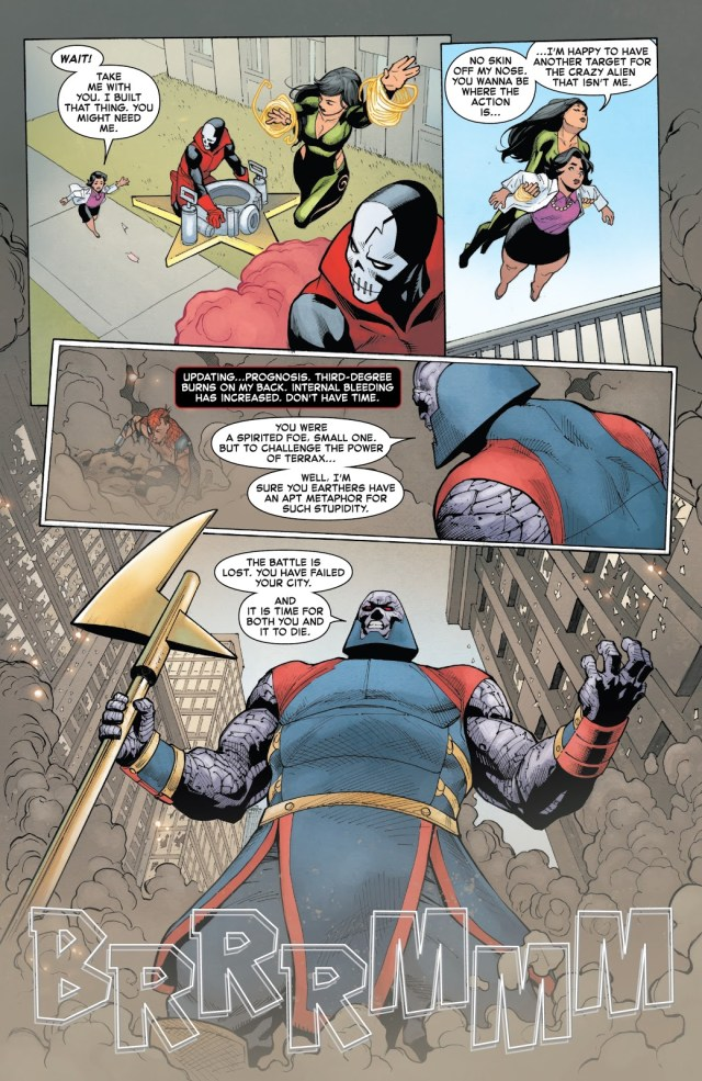 Superior Spider-Man Gains The Power Cosmic