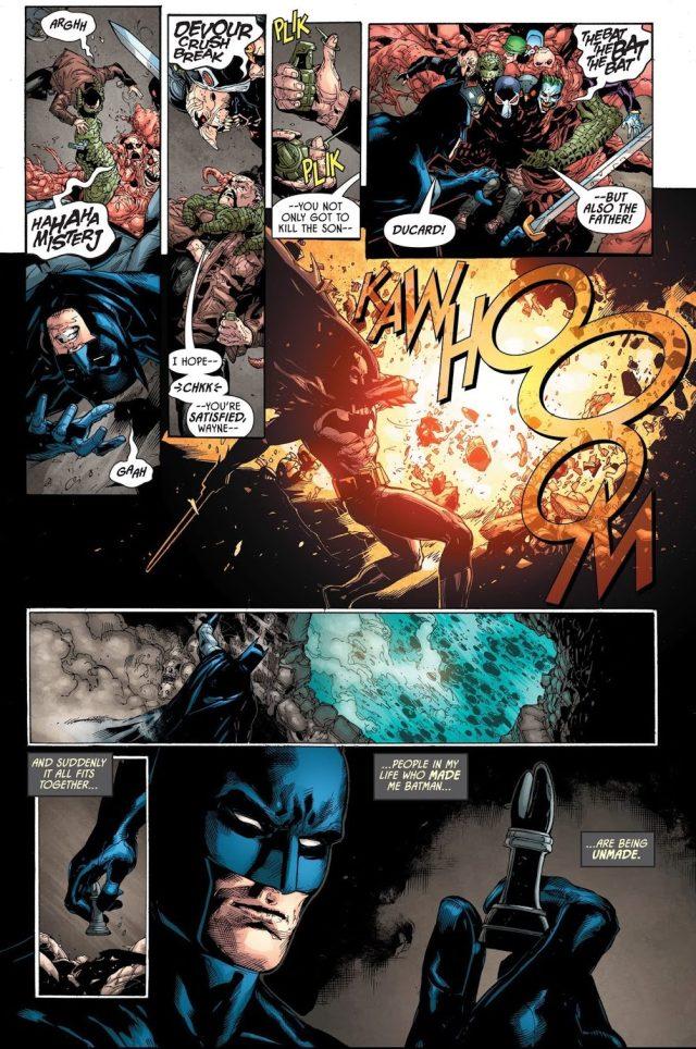 Batman And Henri Ducard VS The Bat