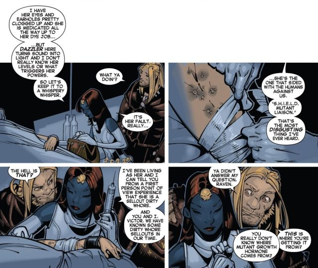 Why Mystique Hates Dazzler
