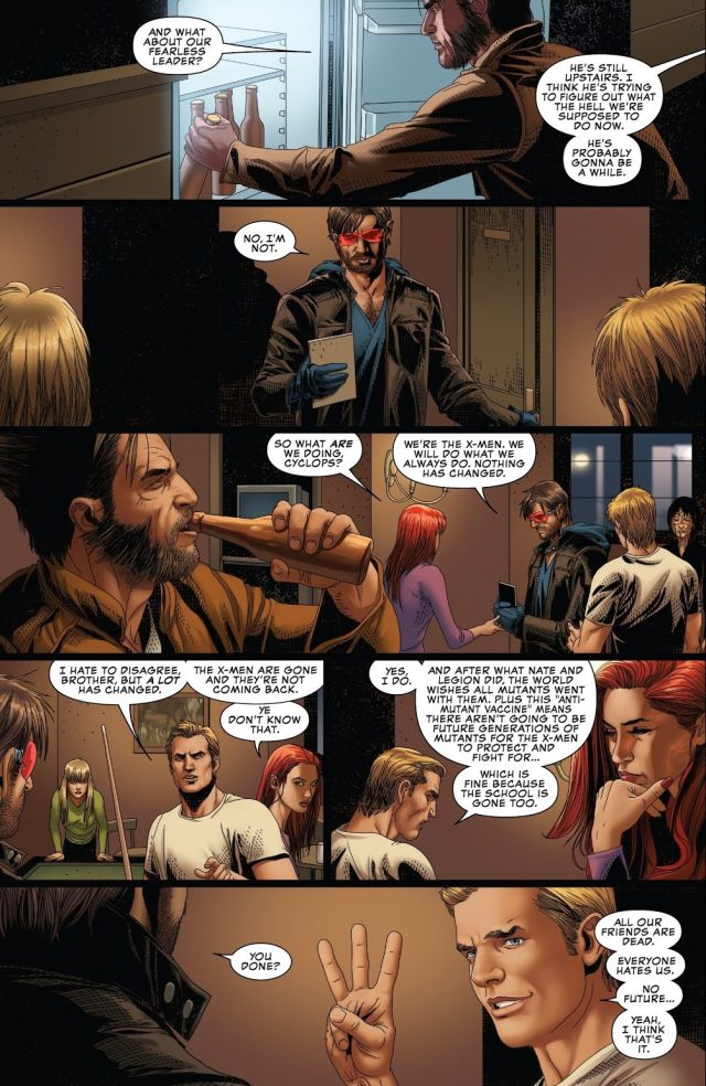 Cyclops's Plan For The Surviving X-Men