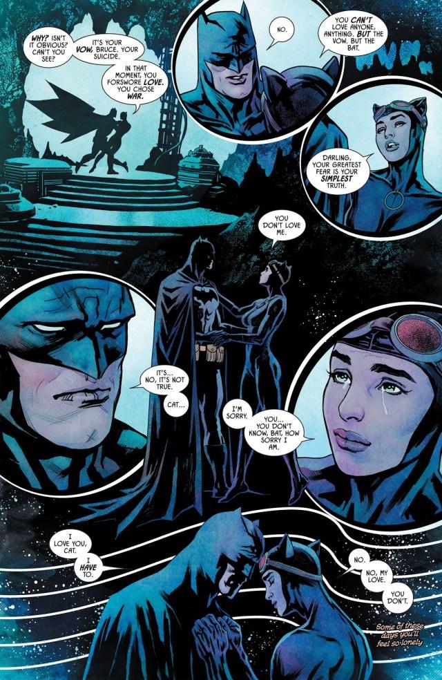 Batman Realizes He Doesn't Love Catwoman (Rebirth)