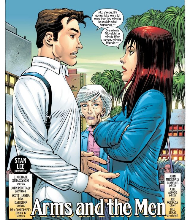 Peter Parker And Mary Jane (The Amazing Spider-Man Vol. 2 #44)