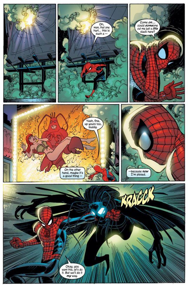Shathra Hunts Spider-Man