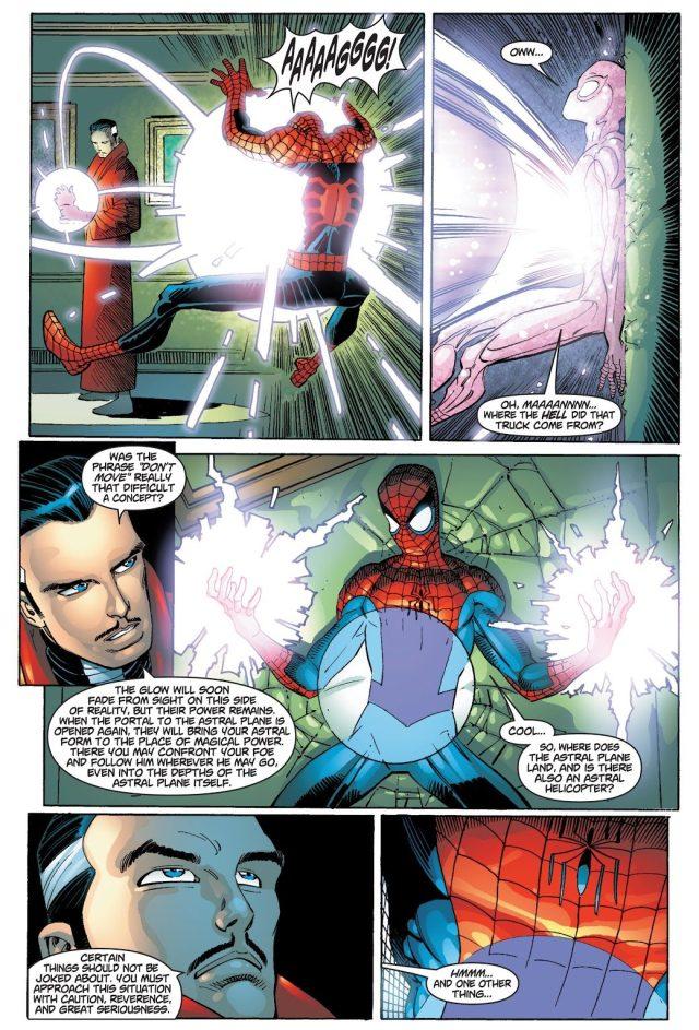 Spider-Man With The Hand Of Vishanti