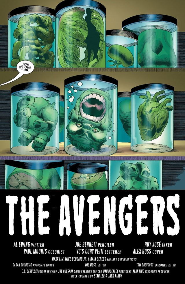 The Immortal Hulk Chopped Into Pieces