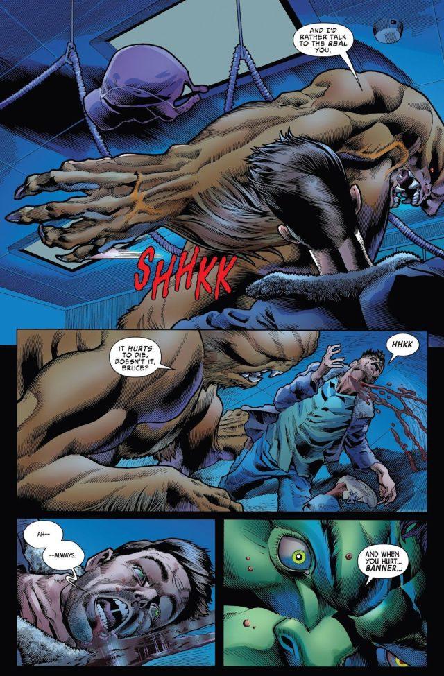 The Immortal Hulk VS Sasquatch