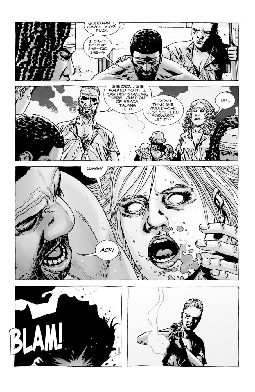 Andrea Shoots Carol (The Walking Dead)