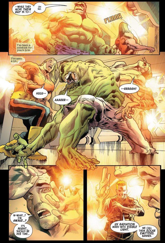 Immortal Hulk Is Weak Against UV Radiation Lights