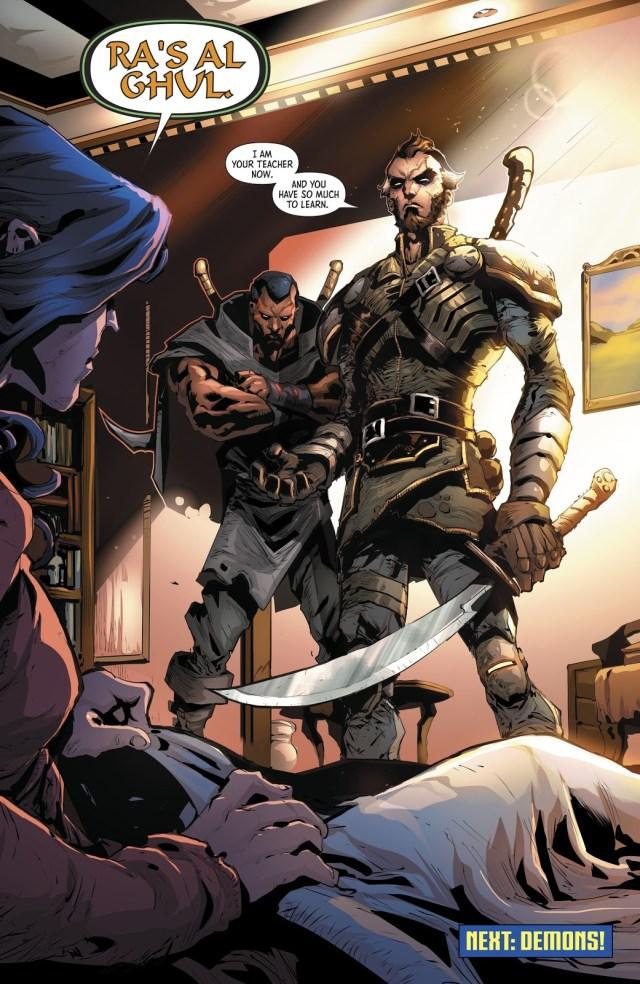 Ra's Al Ghul (Batman And The Outsiders Vol. 3 #2)