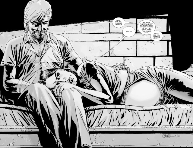 Rick And Lori Grimes (The Walking Dead #37)