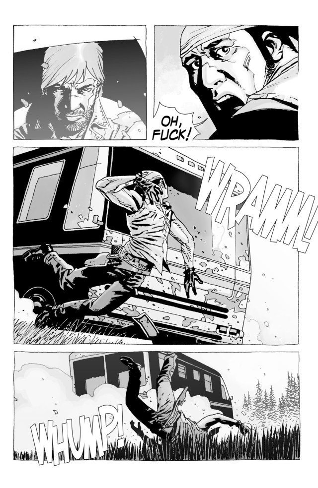 Rick Grimes Kills Caesar Martinez (The Walking Dead)