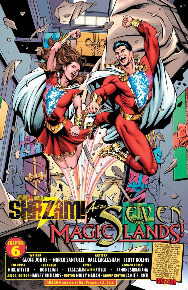 Shazam And Lady Shazam (Shazam Vol. 3 #6)