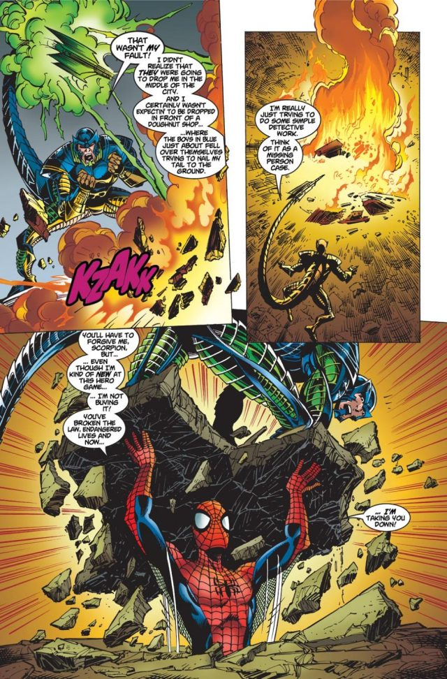 Spider-Man VS The Scorpion (The Amazing Spider-Man Vol. 2 #1)