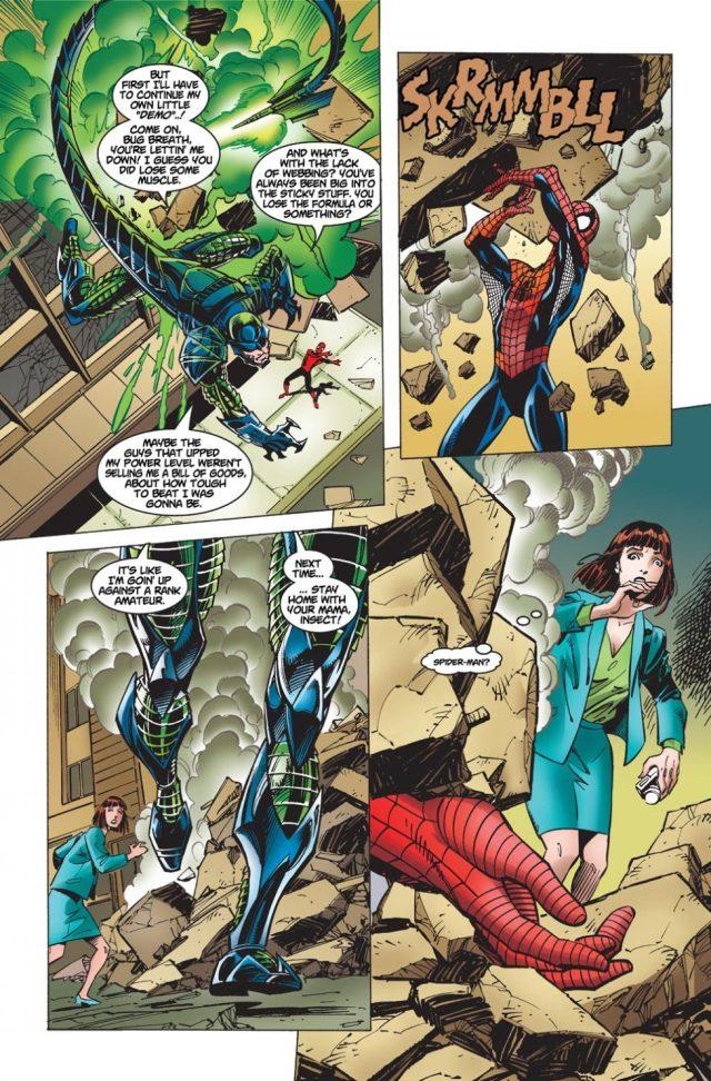Spider-Man VS The Scorpion (The Amazing Spider-Man Vol. 2 #1)