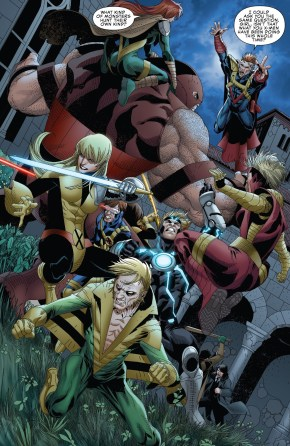 The X-Men VS The Upstarts