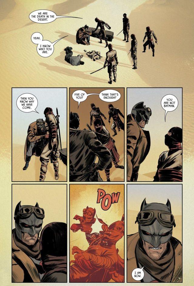 Thomas Wayne Batman VS Death Of The Desert