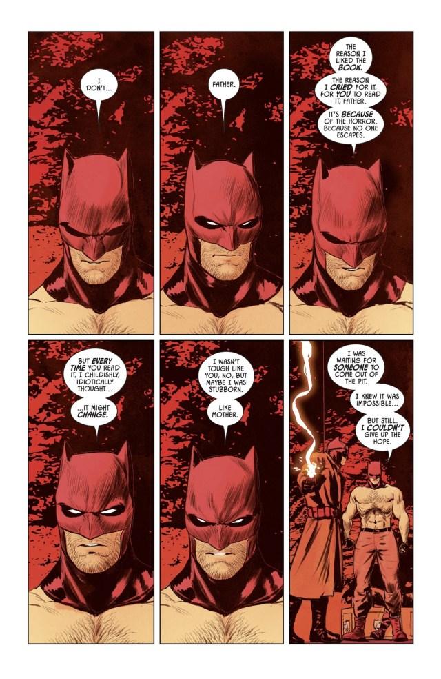 Batman VS Batman Thomas Wayne