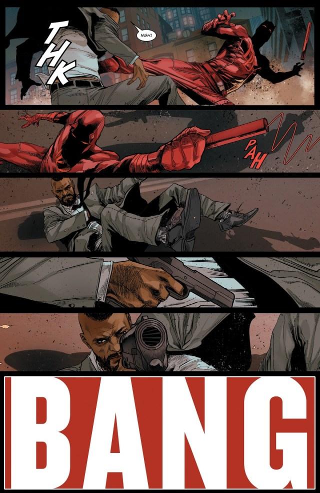 Detective Cole North Shoots Daredevil