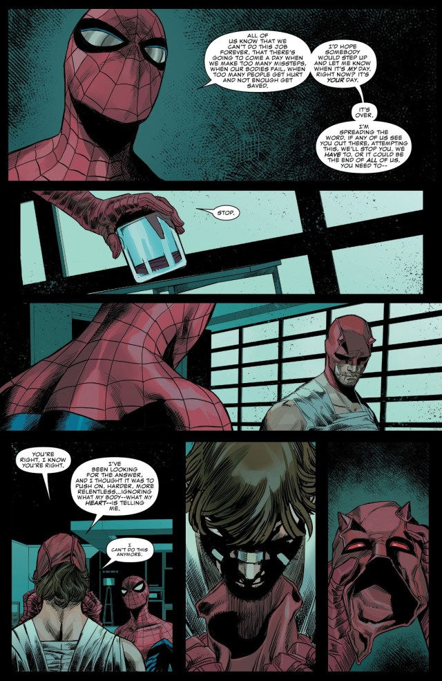 How Much Daredevil Respects Spider-Man