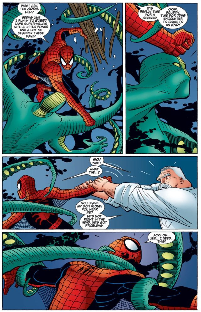 Spider-Man VS The Squid