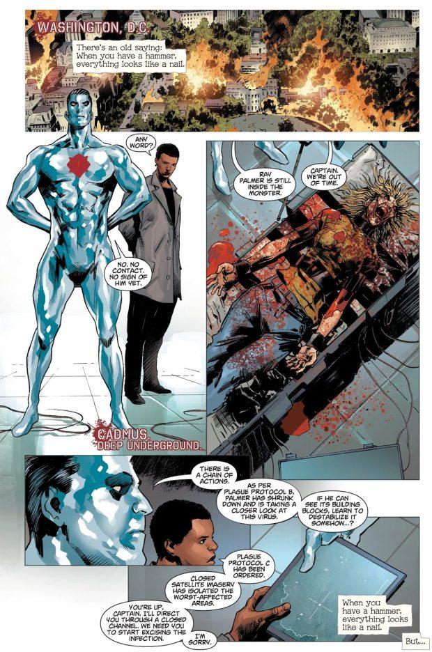 The Atom Kills Captain Atom (Dceased)